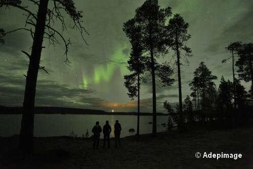 Aurore boreale en Finlande_5485