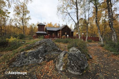 Eglise pans de bois